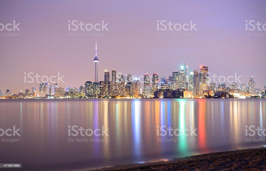 Toronto: Skyline royalty-free stock photo