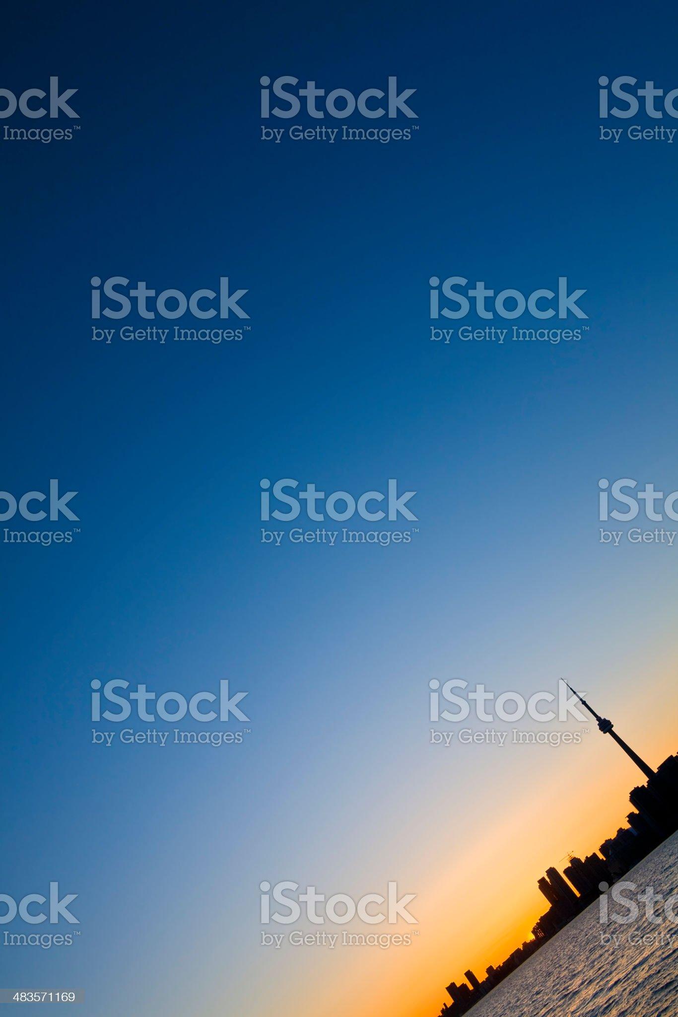 Toronto Skyline royalty-free stock photo
