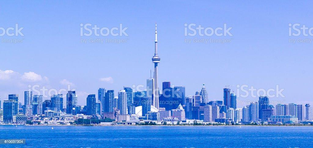 Toronto skyline. royalty-free stock photo