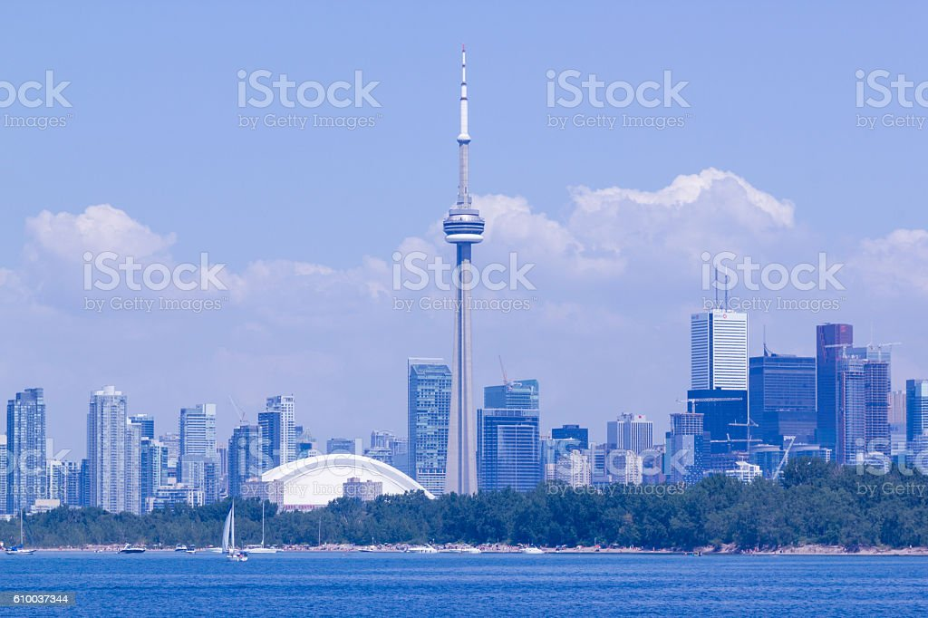Toronto skyline. royalty-free stock photo