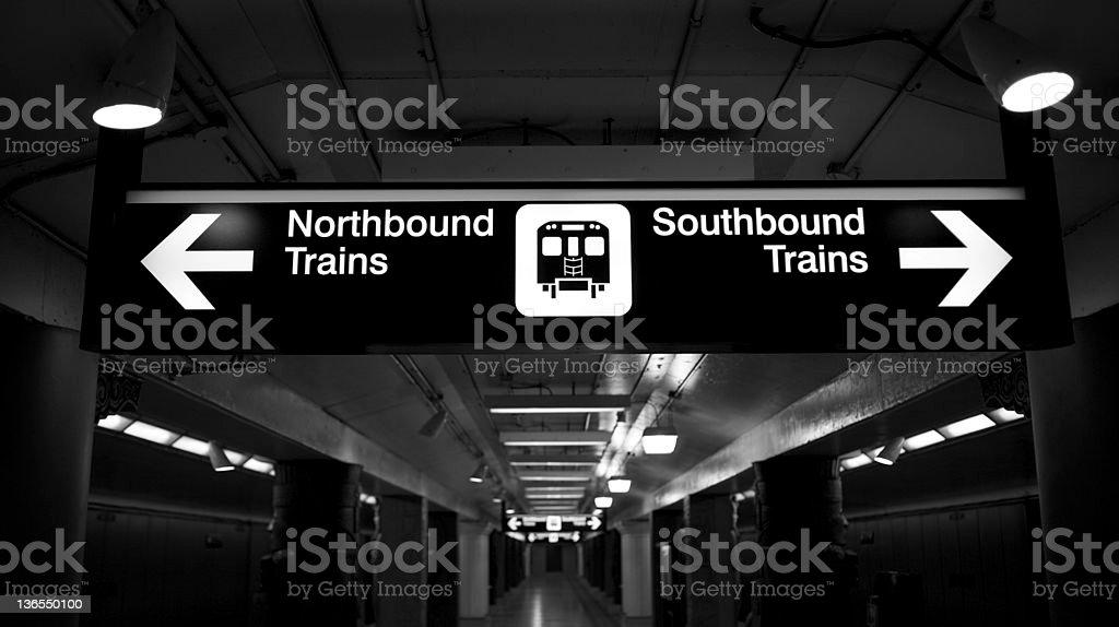 Toronto subway royalty-free stock photo