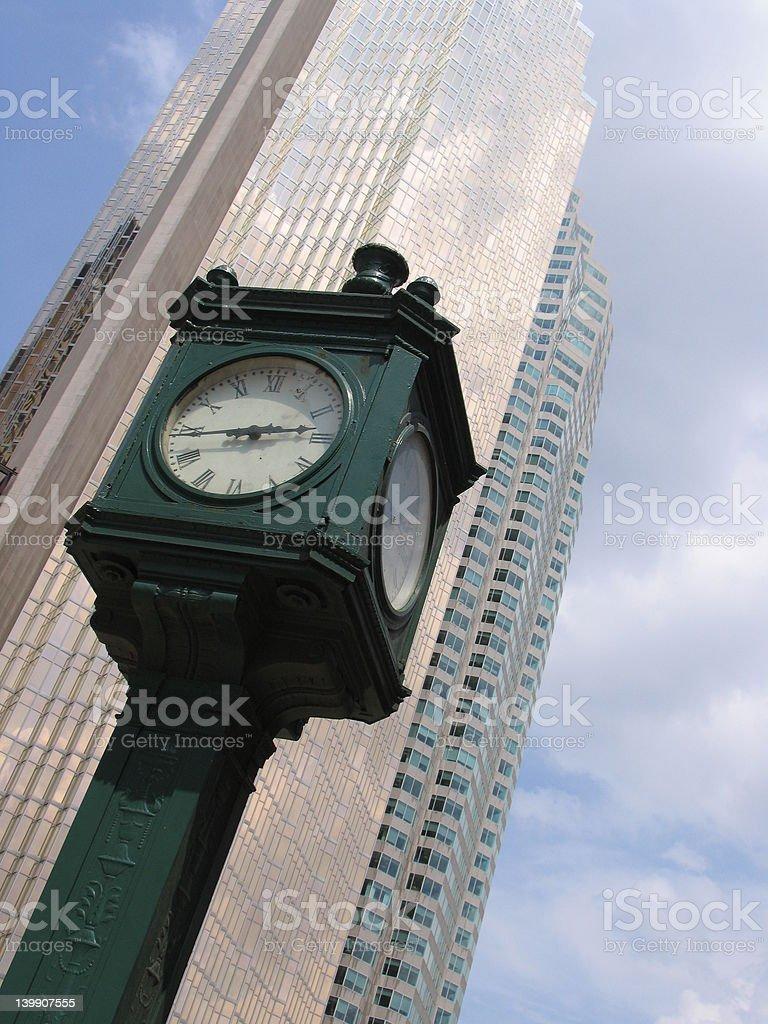 Toronto time stock photo