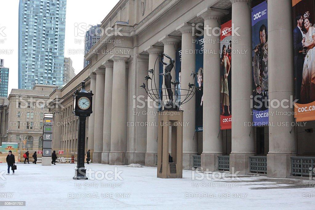 Toronto Union Station stock photo