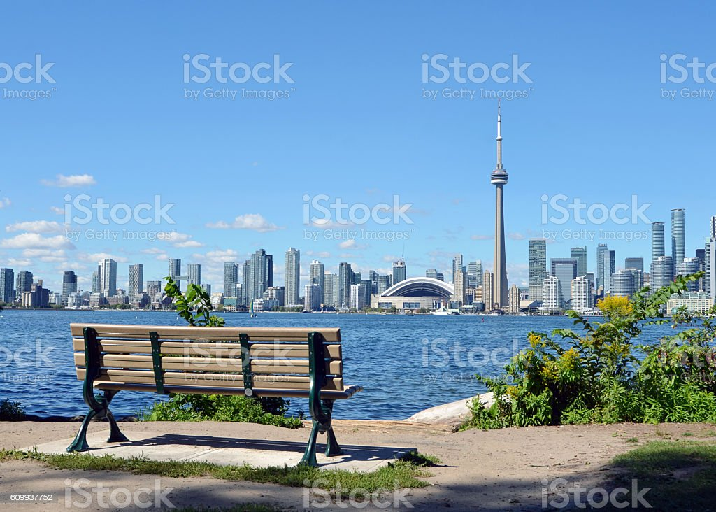 Toronto View stock photo