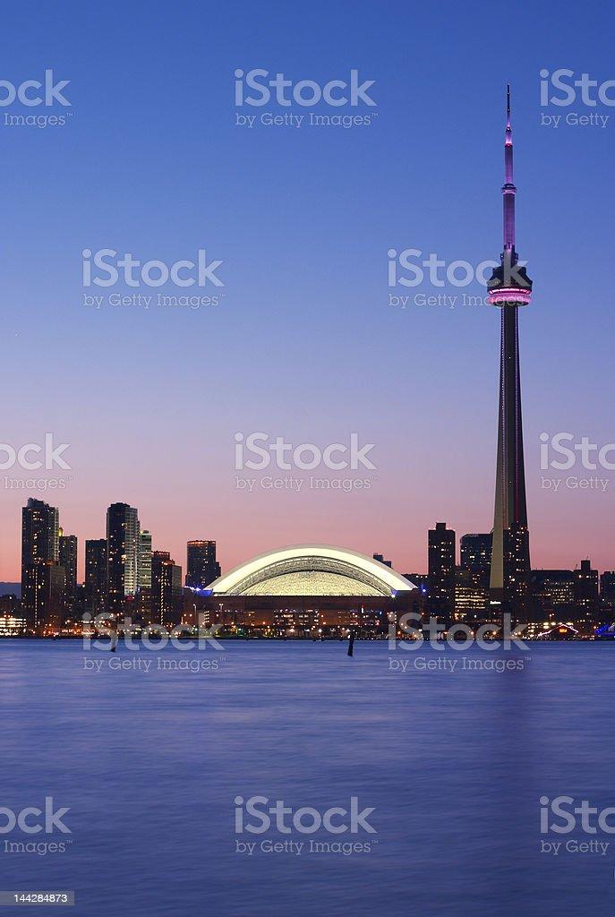 Toronto waterfront royalty-free stock photo