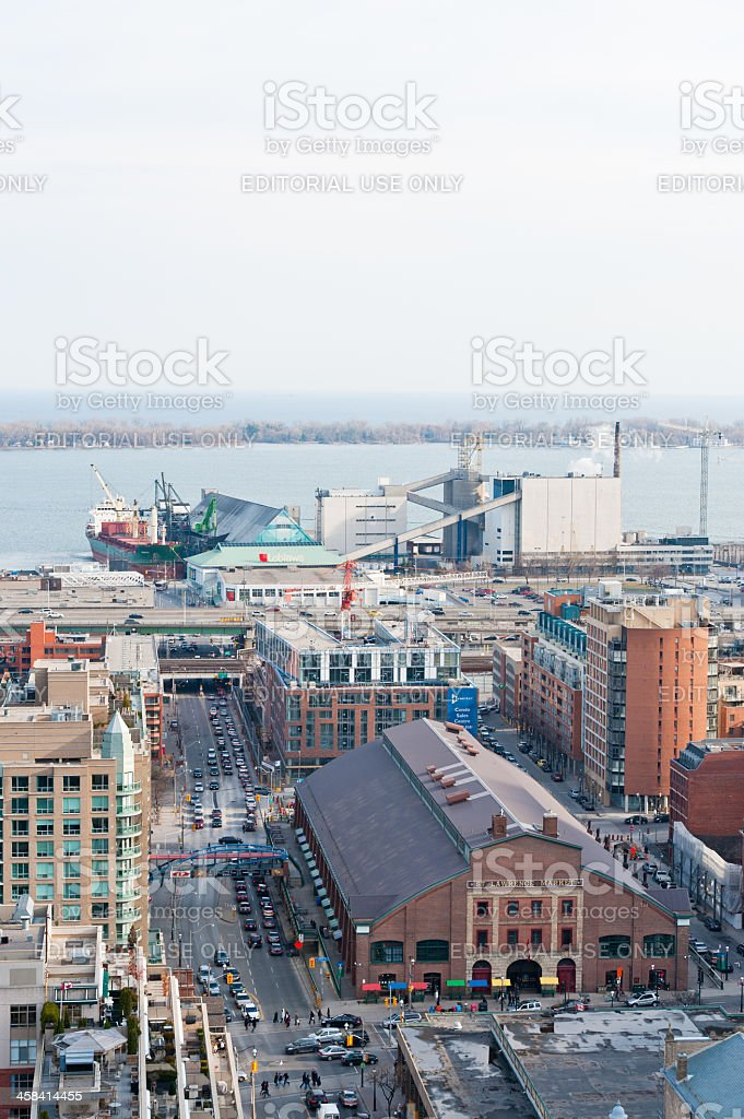 Toronto Waterfront royalty-free stock photo