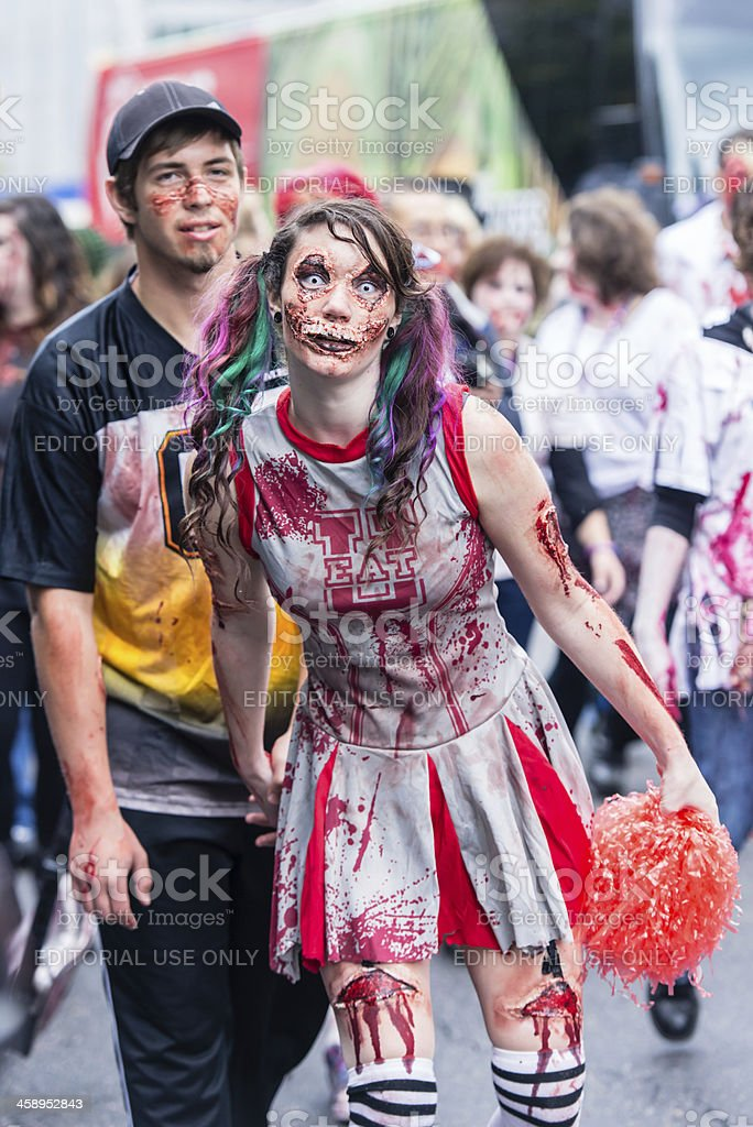 Toronto Zombie Walk 2012 royalty-free stock photo