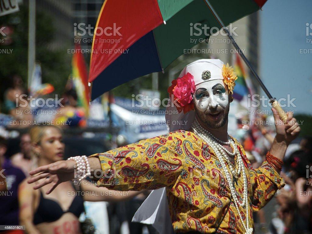 Toronto's 33rd Annual Pride Parade stock photo