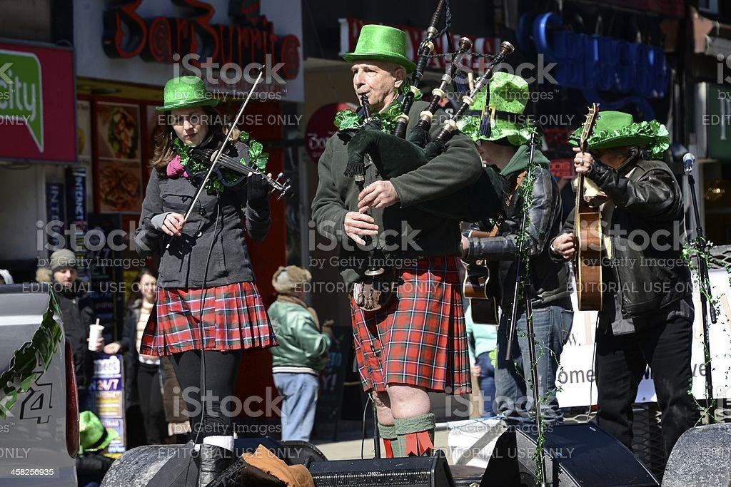 Toronto's annual St. Patrickaas Day parade stock photo