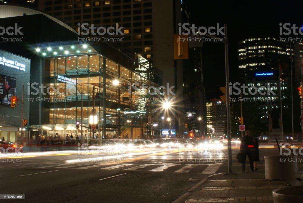 Toronto's Downtown Core stock photo