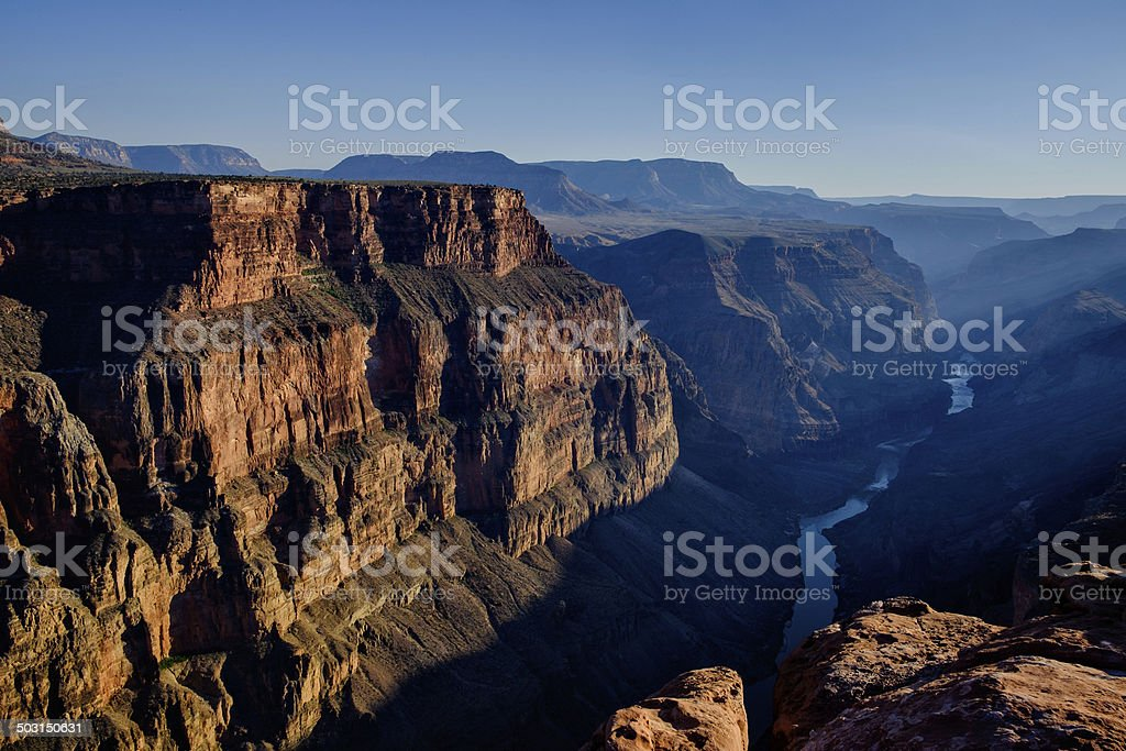 Toroweap Overlook Grand Canyon USA royalty-free stock photo