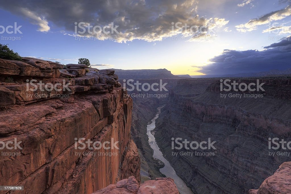 Toroweap Point, Grand Canyon National Park stock photo