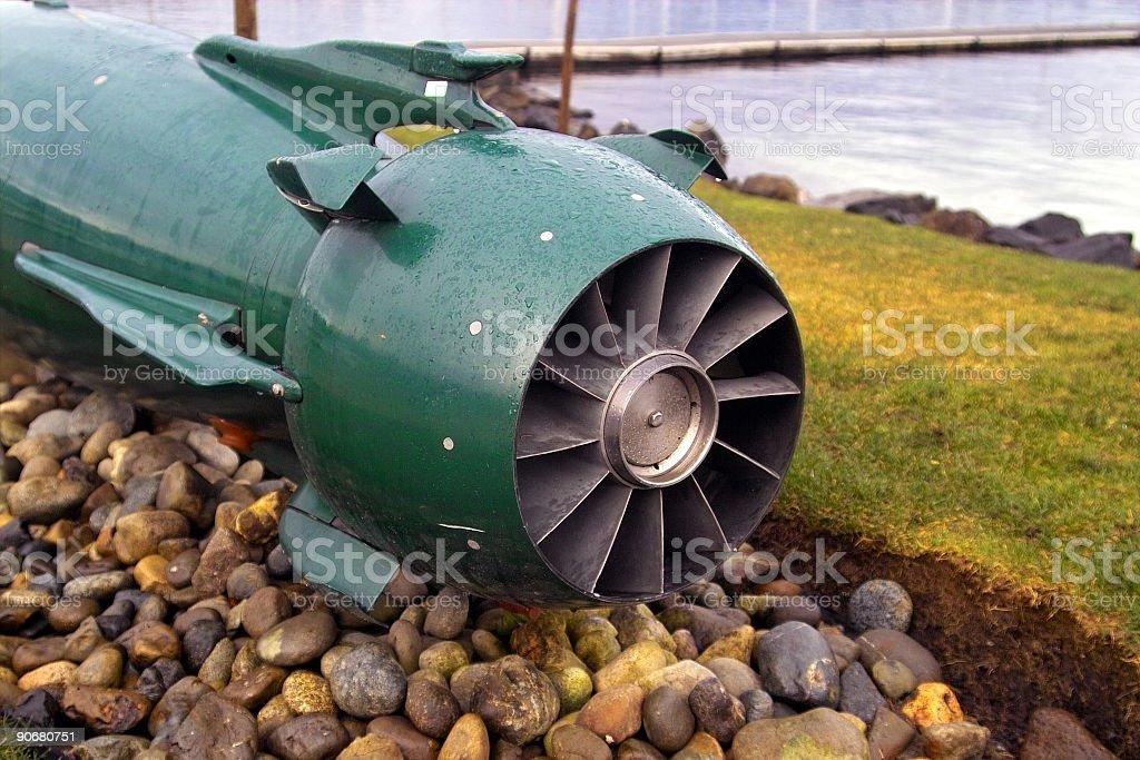 Torpedo 2 royalty-free stock photo