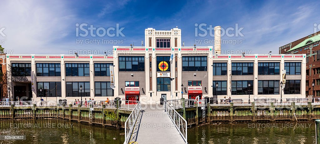 Torpedo Factory Art Center In Alexandria, Virginia stock photo