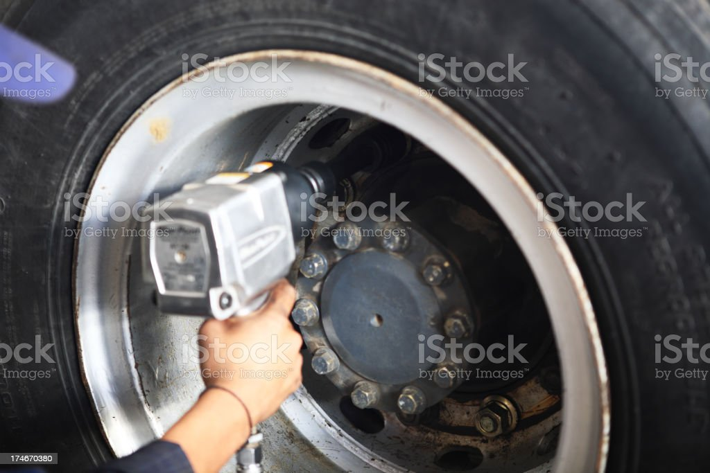 Torque Gun royalty-free stock photo