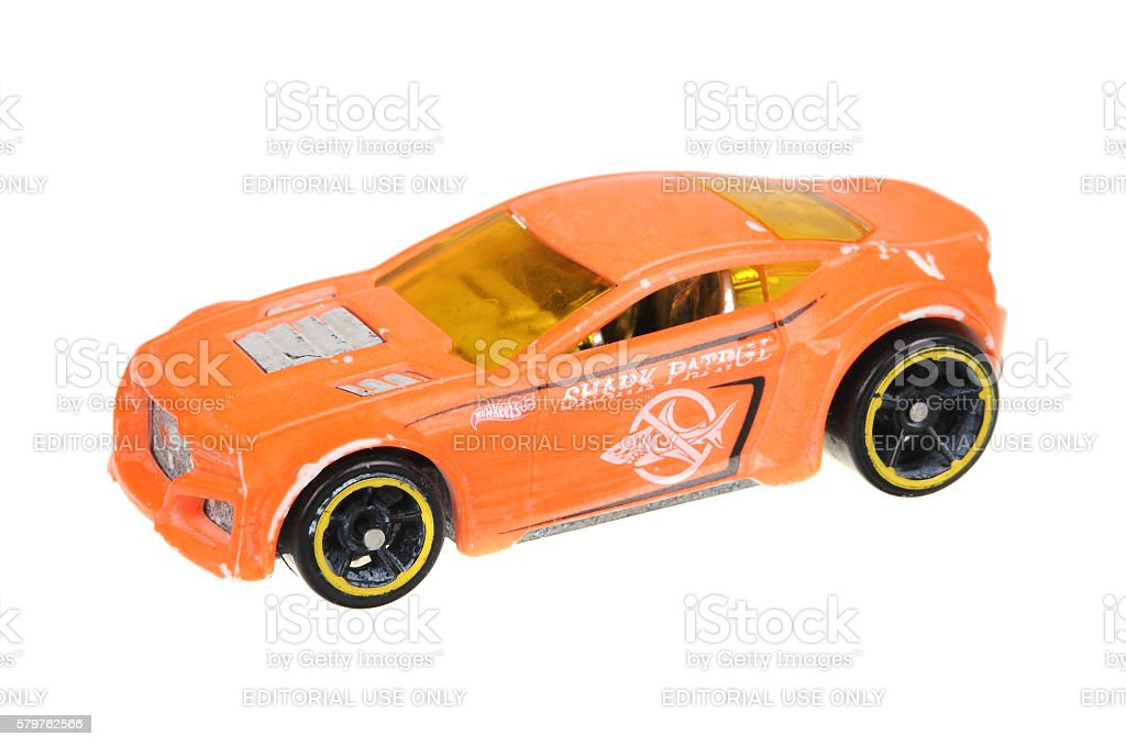 2009 Torque Twister Hot Wheels Diecast Toy Car stock photo