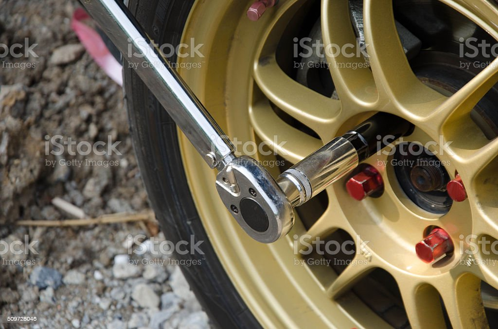 Torque Wrench stock photo