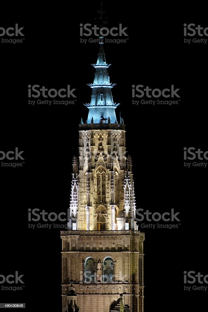 Torre Catedral de Toledo(España= stock photo