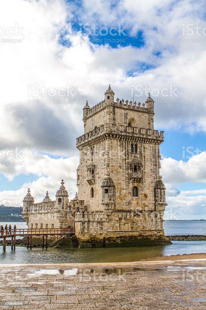 Torre de Belem / Belem tower stock photo