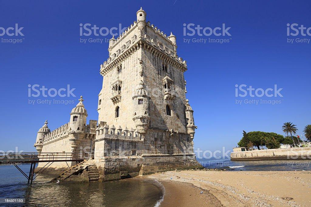 Torre de Belem, Lisbon - Portugal stock photo