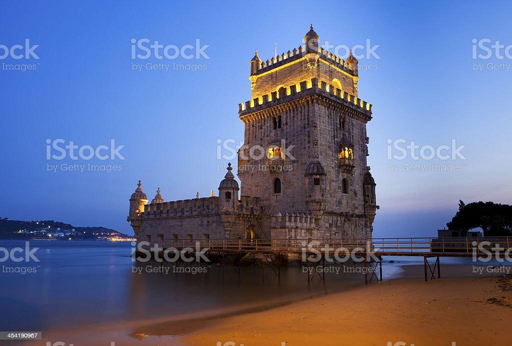 Torre de Belem, Lisbon, Portugal stock photo