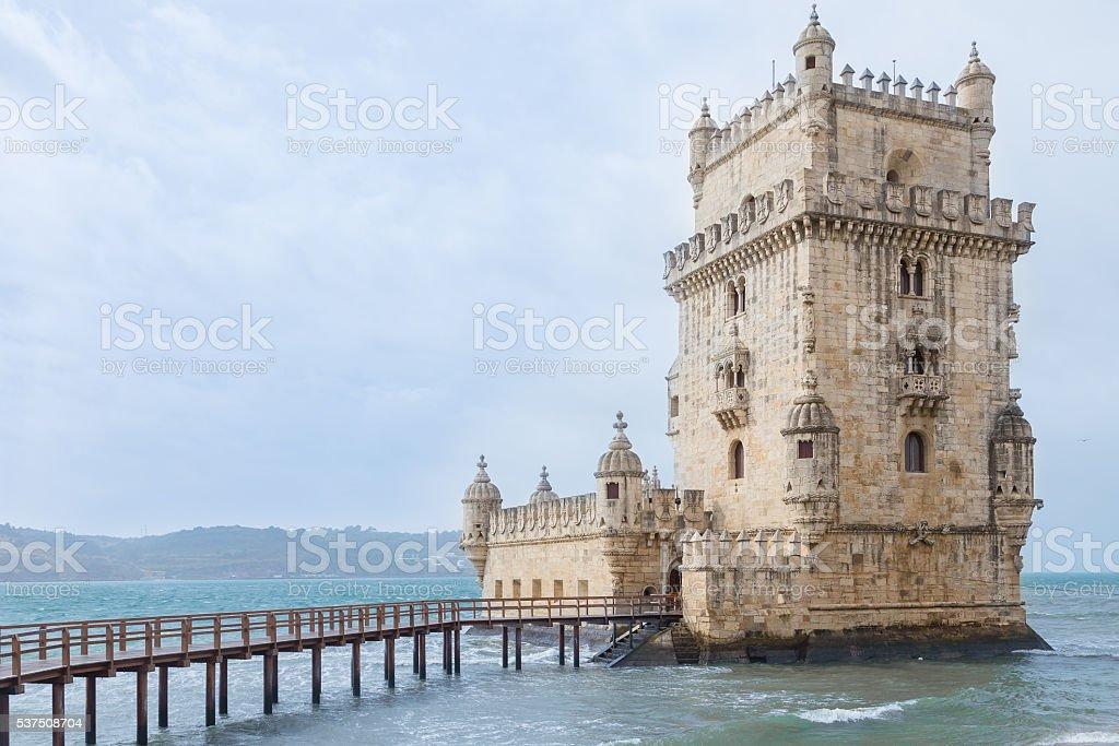 Torre de Belem - Lisbon, Portugal stock photo