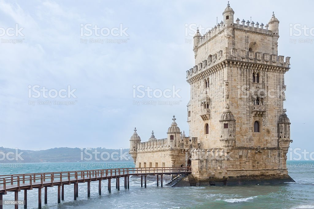 Torre de Belem - Lisbon, Portugal stock photo