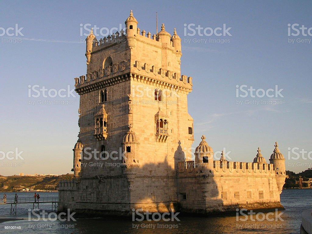 Torre de Belém, Lisbon, Portugal royalty-free stock photo