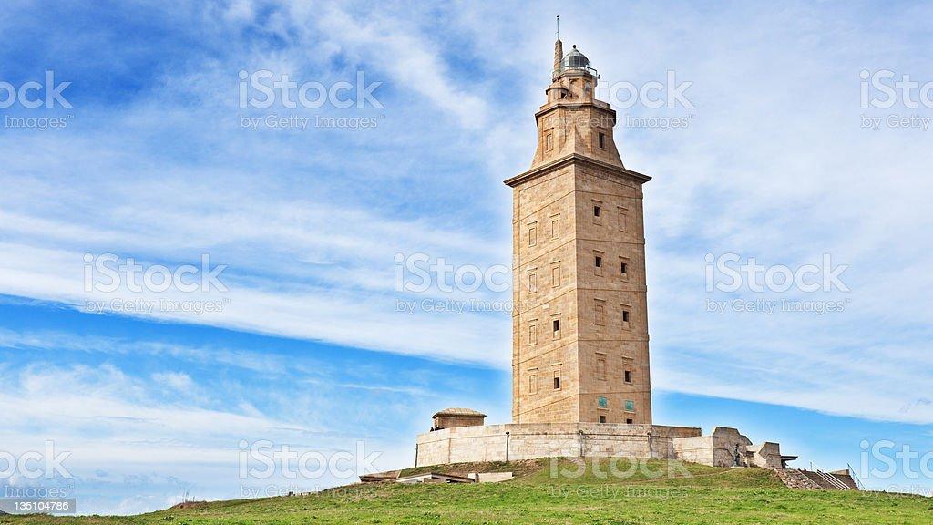 Torre de H?rcules stock photo