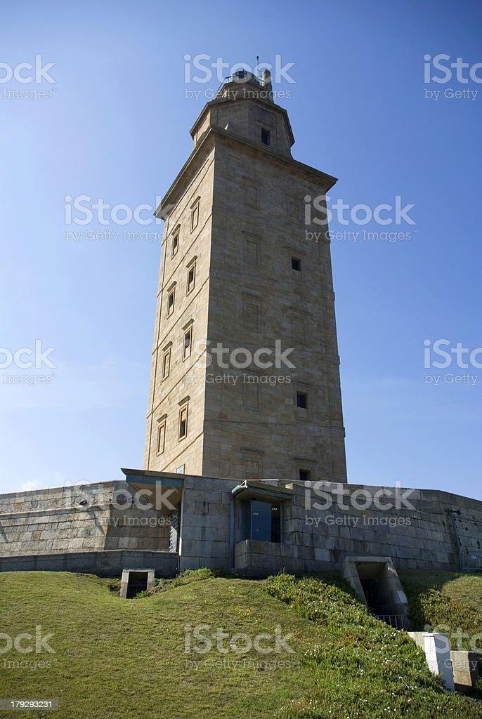 Torre de Hércules royalty-free stock photo