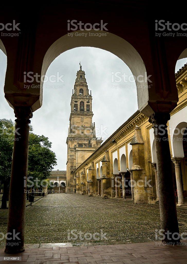 Torre de Mezquita de Córdoba stock photo