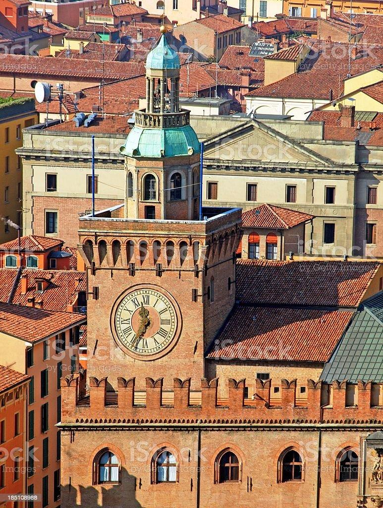 'Torre degli Accursi,Bologna' stock photo