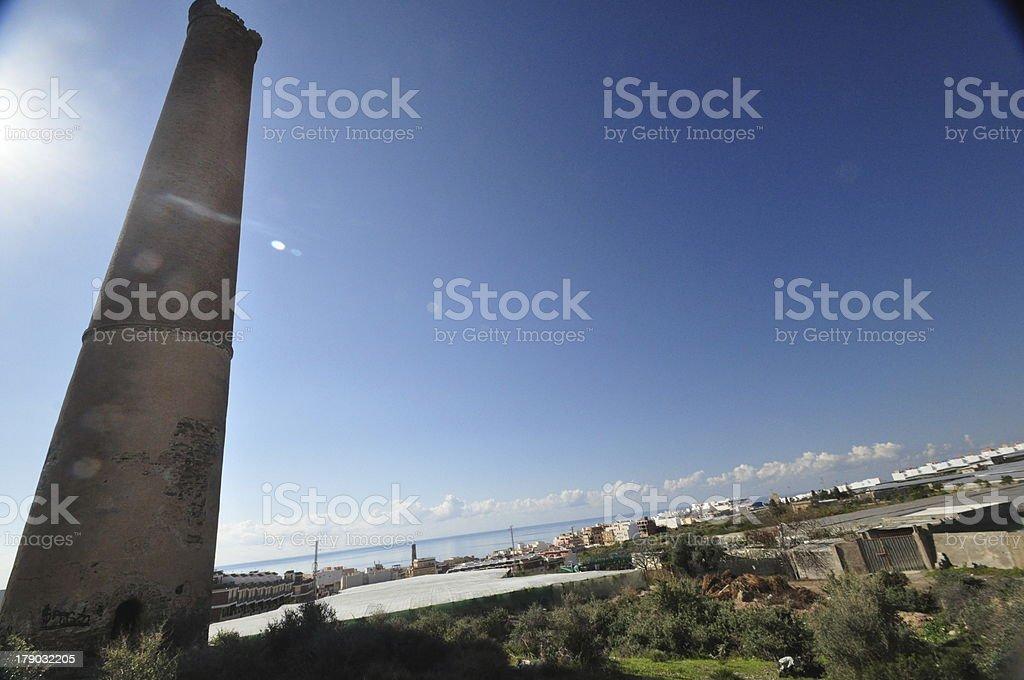 Torre del Humo abandonada royalty-free stock photo