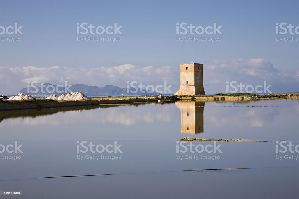 Torre di Nubia, Sicily royalty-free stock photo