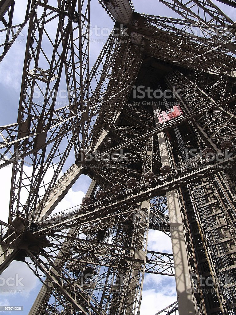Torre Eiffel stock photo