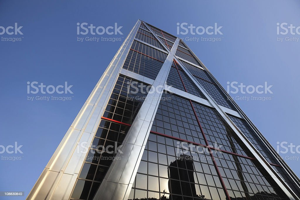 torre europa, madrid royalty-free stock photo