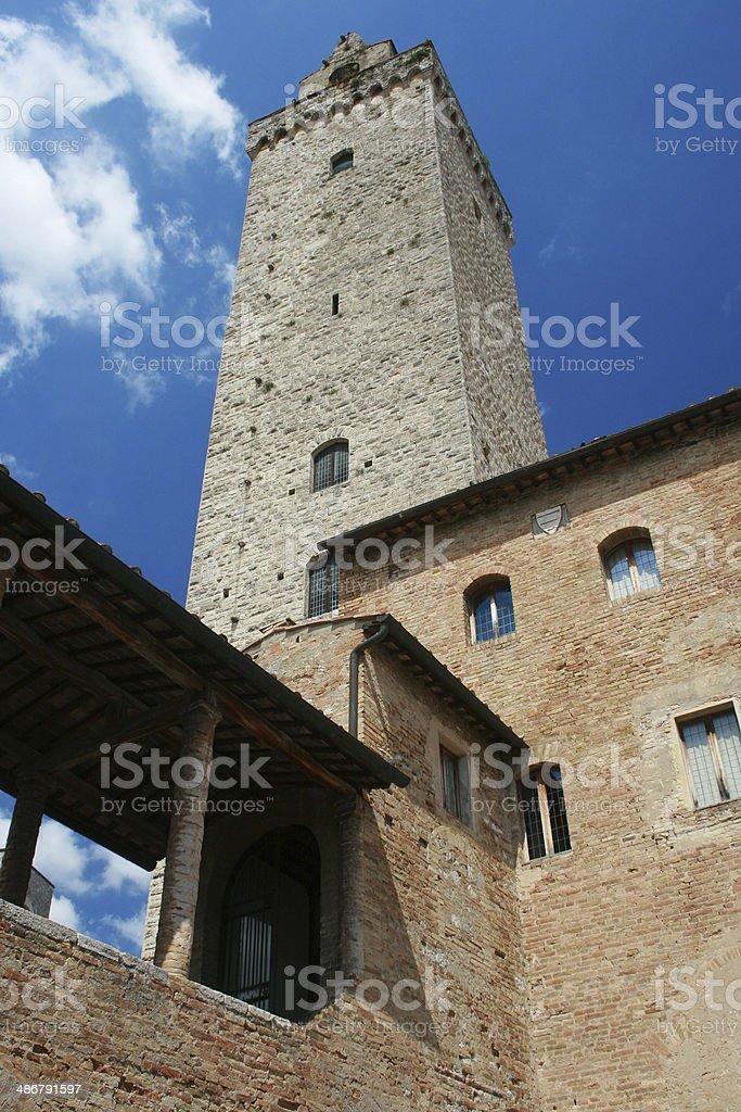 Torre Grossa stock photo