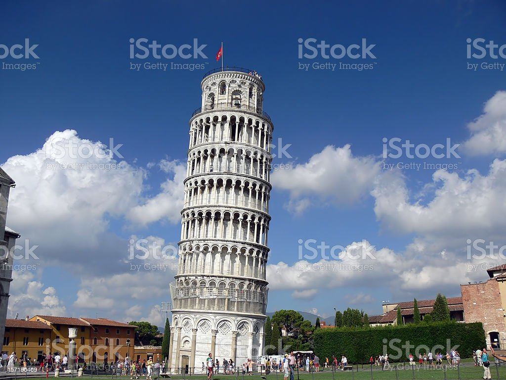 Torre Inclinada stock photo