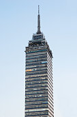 Torre Latinoamericana in Mexico City.