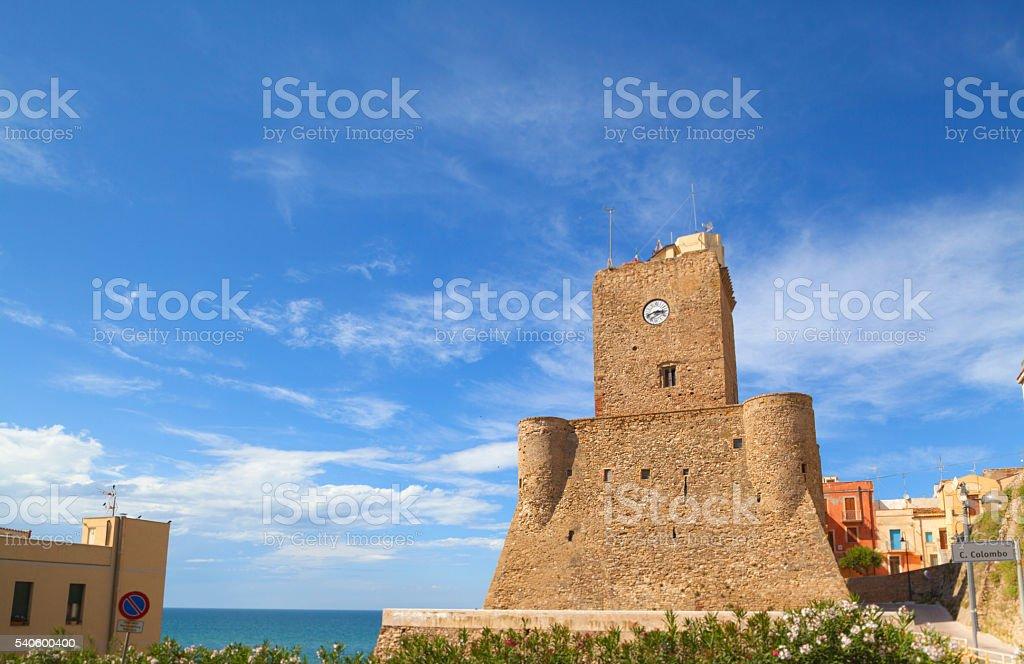 Torre Sveva in Termoli, Molise stock photo