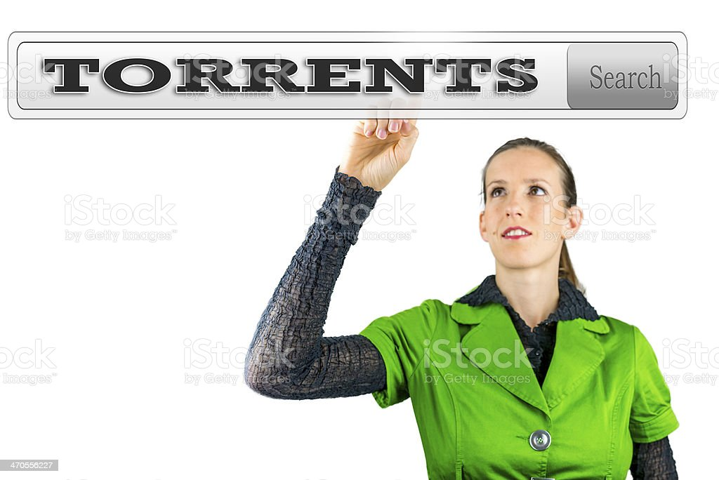 Torrents stock photo