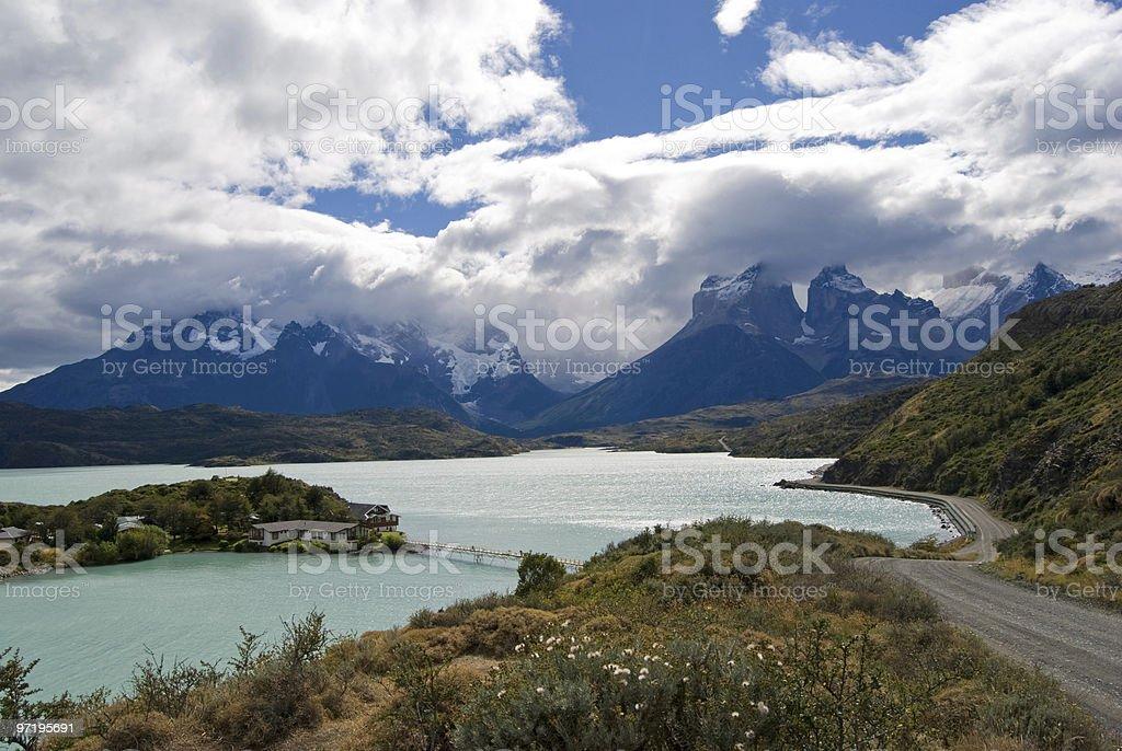 Torres de Paine stock photo