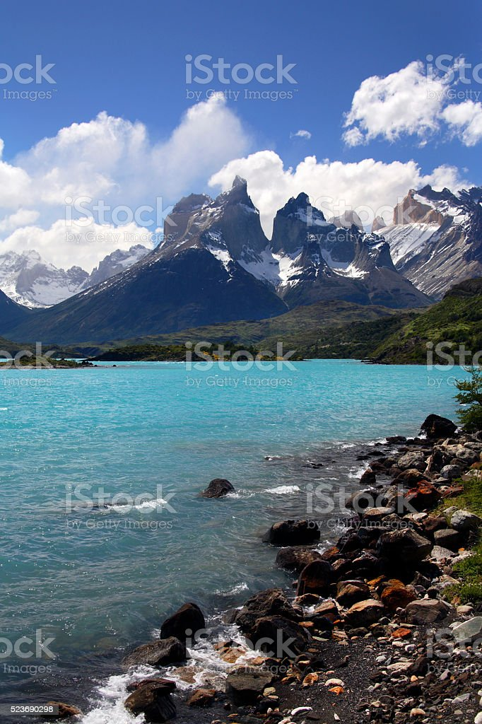 Torres del Paine National Park - Patagonia - Chile stock photo