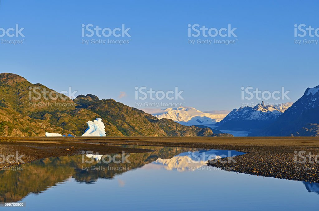 Torres del Paine stock photo