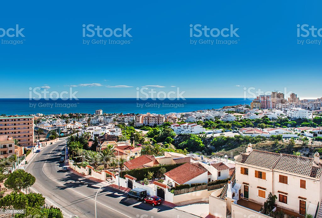 Torrevieja city stock photo