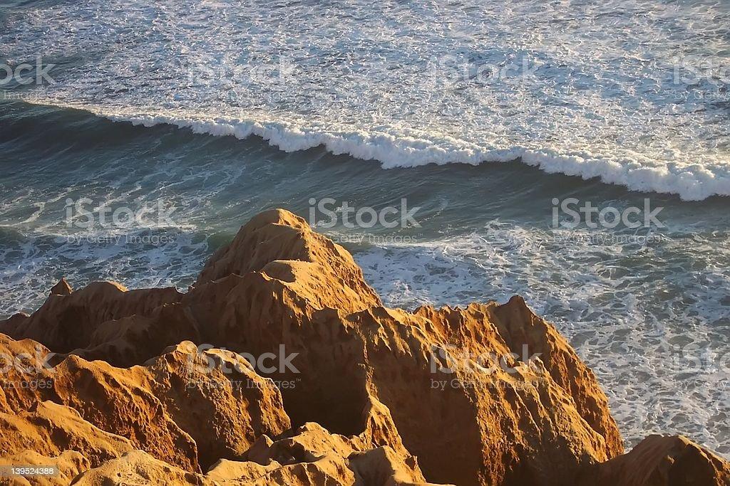 Torrey Pines Ocean View stock photo