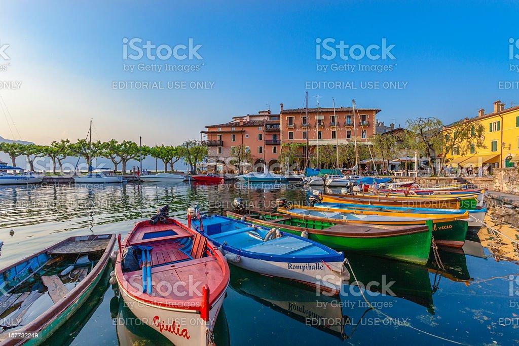 Torri del Benaco, Lake Garda royalty-free stock photo