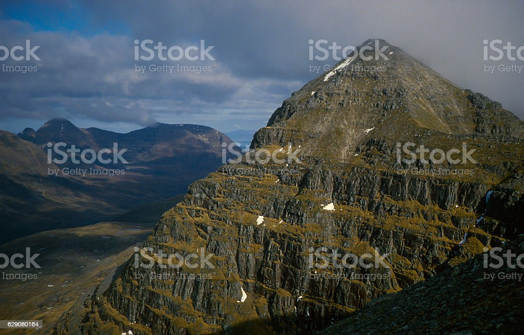 Torridon Liathach stock photo