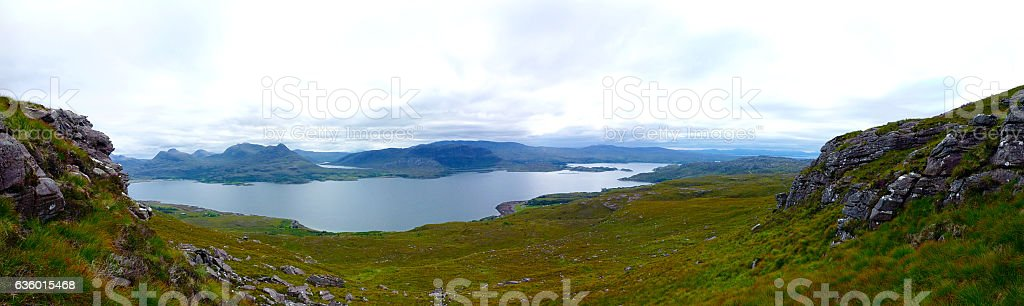 Torridon view stock photo
