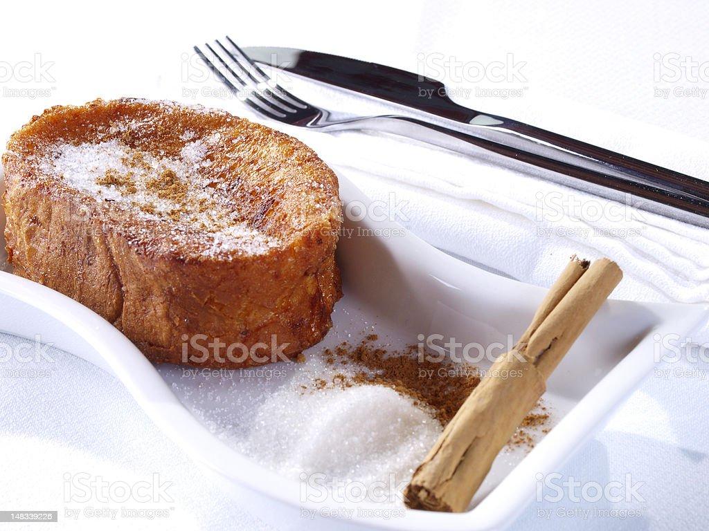 Torrijas – French Toast royalty-free stock photo